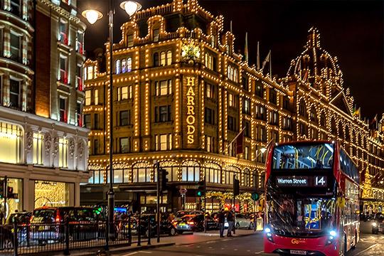 Harrods in Londen